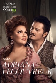 The Met: Live in HD  Adriana Lecouvreur Poster