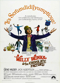 Free Kid Flicks: Willy Wonka & Chocolate Factory Poster
