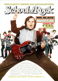 Free Kid Flicks: School of Rock Poster