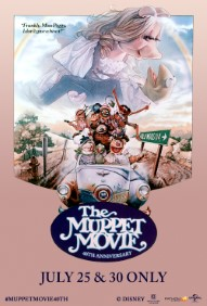 The Muppet Movie 40th Anniversary Poster