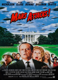 Moving Pictures: Mars Attacks! Poster