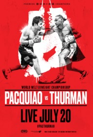Manny Pacquiao vs. Keith Thurman Poster