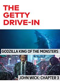 Godzilla: King of the Monsters / John Wick 3 Poster