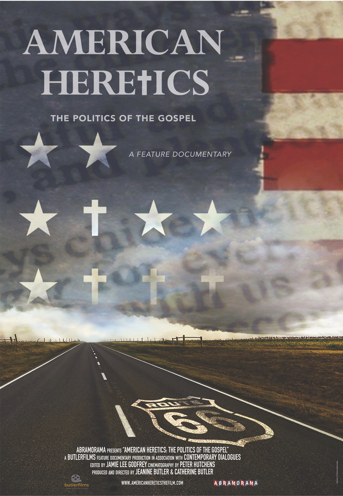 American Heretics: The Politics of the Gospel Poster