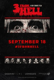 Rob Zombie's 3 From Hell (Night 2) Poster