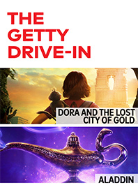 Dora and the Lost City of Gold / Aladdin Poster