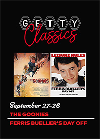 The Goonies / Ferris Bueller's Day Off Poster