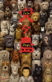 Ingham Co. Animal Shelter Fundraiser: Isle of Dogs Poster