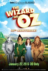 The Wizard of Oz 80th Anniversary presented by TCM Poster