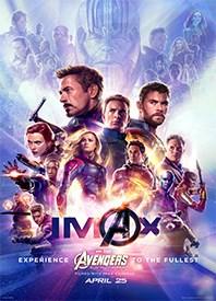 Avengers: Endgame IMAX 3D Poster